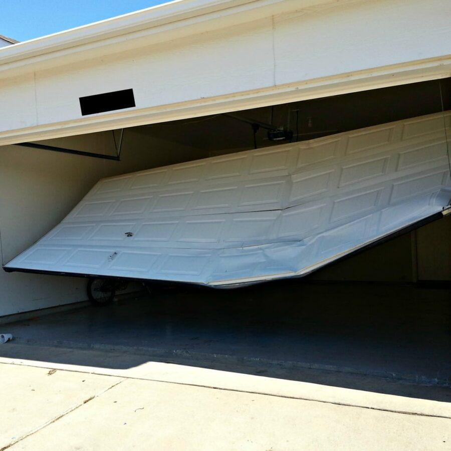 Garage door repair and replacement for a new garage door installation with motor - GP Garage Door Repair Johannesburg.jpg