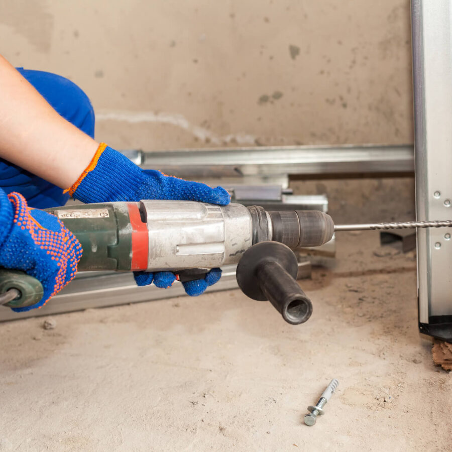 Servicing and fixing a garage door and repairing a garage door motor - GP Garage Door Repair Germiston.jpg
